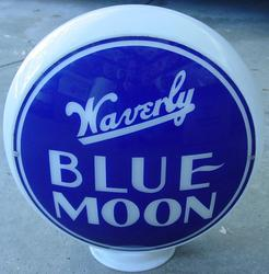 Waverly Blue Moon 14 inch glass!