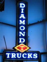 Rare Diamond Trucks Sign