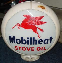 Rare Mobilheat Stove Oil Gas Globe