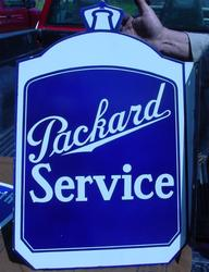 Scarce Mint Packard Sign