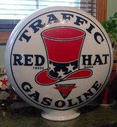 Rare Red Hat Traffic One Piece Globe