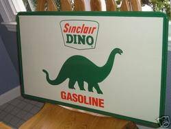 Reproduction/Fantasy Sinclair Dino Sign