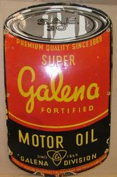 Galena Motor Oil Sign