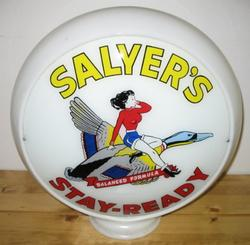 Salyer's Reproduction Gas Globe