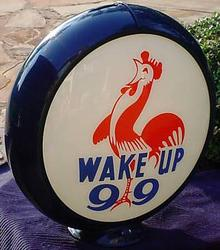 Wake Up Reproduction Gas Globe