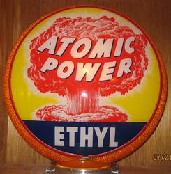 Atomic Power Ethyl Gas Globe