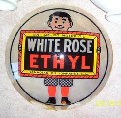 Rare Only Known White Rose Ethyl 15""