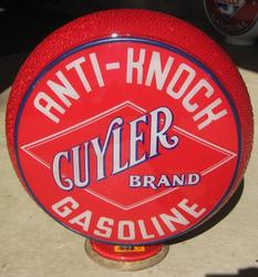 Mint Cuyler Red Ripple Gas Globe