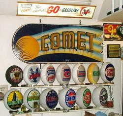 Jim Dumonts Gas Globe Collection