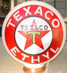 Rare Texaco Ethyl One Piece Red Version