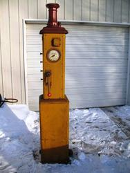 Rare Shotwell 550 Clockface Gas Pump
